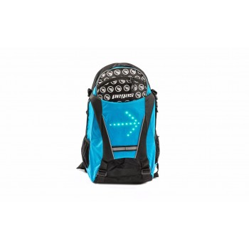 PEGAS backpack with wireless controlled lights